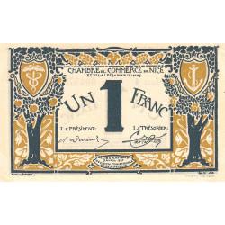 Nice - Pirot 91-05a - 1 franc - Série 4 - 25/04/1917 - Etat : SUP+