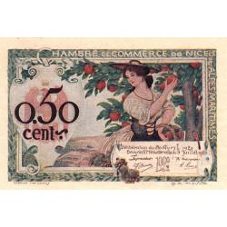 Nice - Pirot 91-09 - 50 centimes - Série 129 - Etat : pr.NEUF