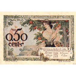 Nice - Pirot 91-14 - 50 centimes - Série 315 - 30/04/1920 - Etat : TTB+