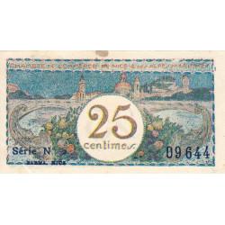 Nice - Pirot 91-16 - 25 centimes - Série 2 - Sans date - Etat : SUP