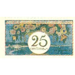 Nice - Pirot 91-16 - 25 centimes - Série 8 - Sans date - Etat : SPL