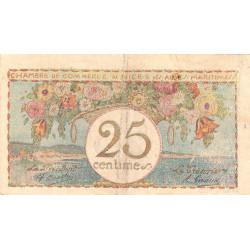 Nice - Pirot 91-18 - 25 centimes - Série 12 - Sans date - Etat : TB+