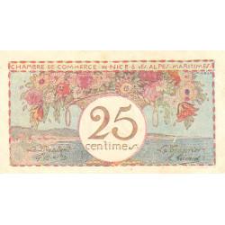 Nice - Pirot 91-18 - 25 centimes - Série 13 - Sans date - Etat : TTB+