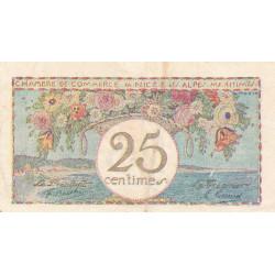Nice - Pirot 91-18 - 25 centimes - Série 19 - Sans date - Etat : TTB-