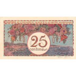 Nice - Pirot 91-19 - 25 centimes - Série 31 - Sans date - Etat : NEUF