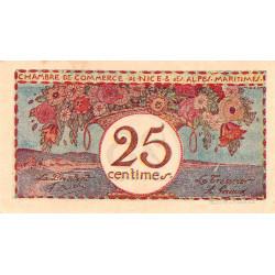 Nice - Pirot 91-19 - 25 centimes - Série 33 - Sans date - Etat : SUP+