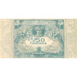 Nîmes - Pirot 92-4 - 50 centimes - Série 3 - 04/06/1915 - Emission 1915-1920 - Essai - Etat : SPL