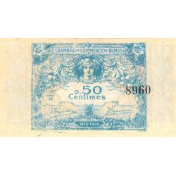 Nîmes - Pirot 92-5 - 50 centimes - Série 35 - 04/06/1915  - Emission 1915-1920 - Etat : NEUF