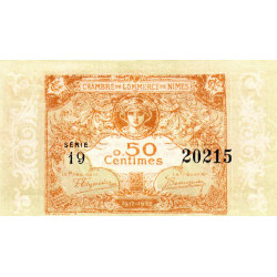 Nîmes - Pirot 92-17 - 50 centimes - Etat : pr.NEUF