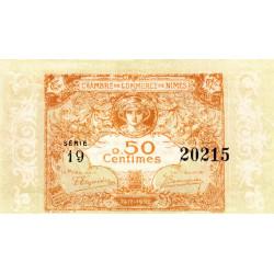Nîmes - Pirot 92-17 - 50 centimes - Série 19 - Emission 1917-1922 - Etat : pr.NEUF