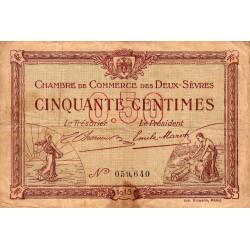 Niort - Deux-Sèvres - Pirot 93-01 - 50 centimes - Etat : B+
