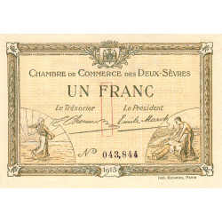 Niort - Deux-Sèvres - Pirot 93-03 - 1 franc - Etat : NEUF