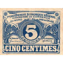 Nord et Pas-de-Calais - Pirot 94-1 - 5 centimes - Etat : TTB