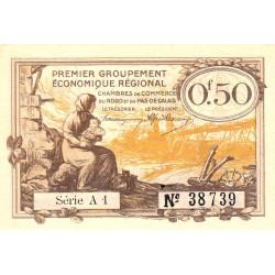 Nord et Pas-de-Calais - Pirot 94-4b - Série A1 - 50 centimes - Etat : NEUF