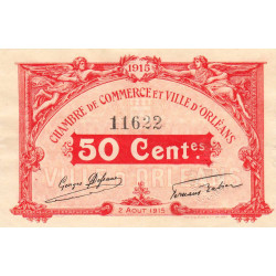 Orléans - Loiret - Pirot 95-4 - 50 centimes - Etat : SUP