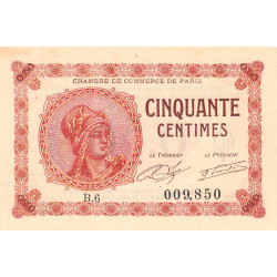 Paris - Pirot 97-10-B - 50 centimes - Etat : NEUF