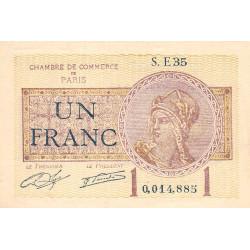 Paris - Pirot 97-23-E - 1 franc - Etat : SUP