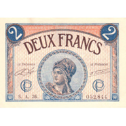 Paris - Pirot 97-28b - 2 francs - Série A.36 - 10/03/1920 - Etat : pr.NEUF