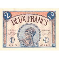 Paris - Pirot 97-28b-A - 2 francs - Etat : pr.NEUF
