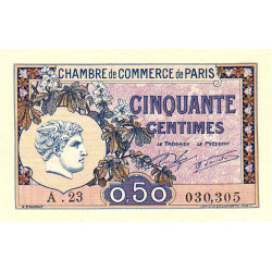Paris - Pirot 97-31-A - 50 centimes - Etat : SPL