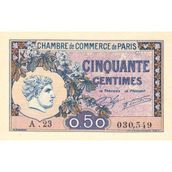 Paris - Pirot 97-31-A - 50 centimes - Etat : NEUF