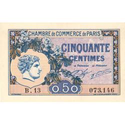 Paris - Pirot 97-31-B - 50 centimes - Etat : pr.NEUF