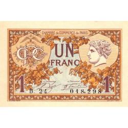 Paris - Pirot 97-36-B - 1 franc - Etat : pr.NEUF