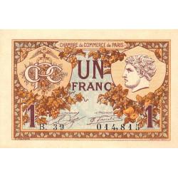 Paris - Pirot 97-36-B - 1 franc - Etat : NEUF