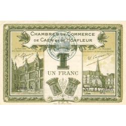 Caen / Honfleur - Pirot 34-14-A - 1 franc - 1915 - Etat : SUP