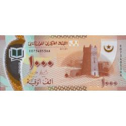 Mauritanie - Pick 26 - 1'000 nouveaux ouguiya - Polymère - 28/11/2017 - Etat : NEUF
