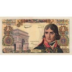 F 59-02 - 04/06/1959 - 100 nouv. francs - Bonaparte - Série J.19 - Etat : TTB+