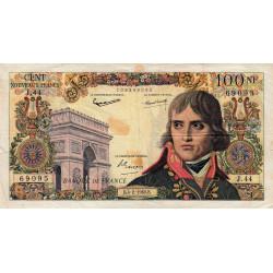 F 59-05 - 04/02/1960 - 100 nouv. francs - Bonaparte - Série J.44 - Etat : TB+