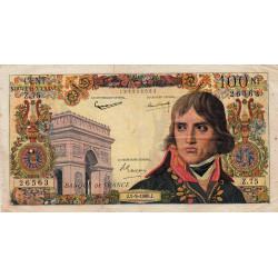 F 59-07 - 01/09/1960 - 100 nouv. francs - Bonaparte - Etat : TB