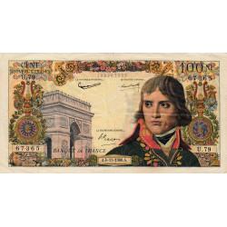 F 59-08 - 04/11/1960 - 100 nouv. francs - Bonaparte - Série U.79 - Etat : TTB