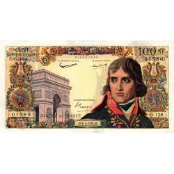 F 59-11 - 04/05/1961 - 100 nouv. francs - Bonaparte - Etat : SUP