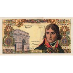 F 59-15 - 05/04/1962 - 100 nouv. francs - Bonaparte - Etat : TTB