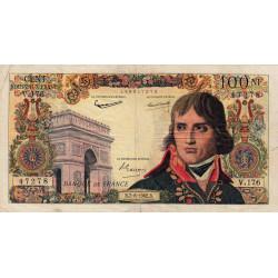 F 59-16 - 07/06/1962 - 100 nouv. francs - Bonaparte - Série V.176 - Etat : TB