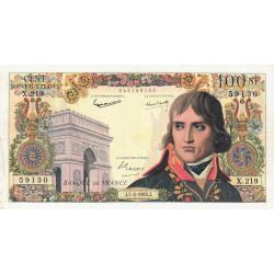 F 59-19 - 07/02/1963 - 100 nouv. francs - Bonaparte - Etat : TTB