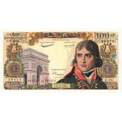 F 59-20 - 10/10/1963 - 100 nouv. francs - Bonaparte - Etat : TTB+