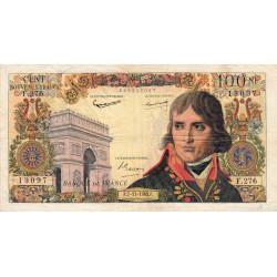 F 59-20 - 07/11/1963 - 100 nouv. francs - Bonaparte - Etat : TB