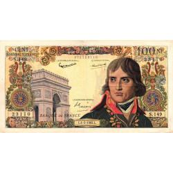 F 59-13 - 01/02/1962 - 100 nouv. francs - Bonaparte - Etat : TTB