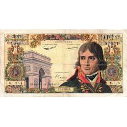 F 59-20 - 07/03/1963 - 100 nouv. francs - Bonaparte - Etat : TB-