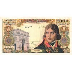 F 59-21 - 02/05/1963 - 100 nouv. francs - Bonaparte - Etat : TB