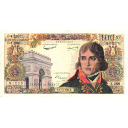 F 59-24 - 07/11/1963 - 100 nouv. francs - Bonaparte - Etat : TTB
