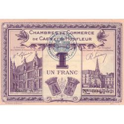 Caen / Honfleur - Pirot 34-22 - 1 franc - Série A - 1920 - Etat : SPL+