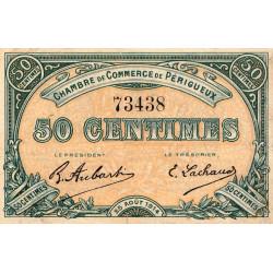 Périgueux - Pirot 98-1 - 50 centimes - 25/08/1914 - Etat : TB+