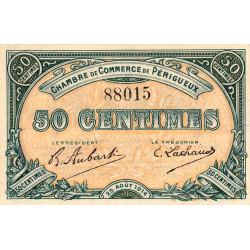 Périgueux - Pirot 98-1 variété - 50 centimes - 25/08/1914 - Etat : SUP-