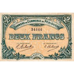 Périgueux - Pirot 98-6 - 2 francs - 25/08/1914 - Etat : TTB