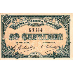Périgueux - Pirot 98-9 - 50 centimes - 10/06/1915 - Etat : SPL