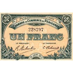 Périgueux - Pirot 98-10 - 1 franc - 10/06/1915 - Etat : SPL+